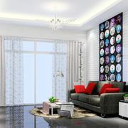 简约风格25平米客厅设计效果图