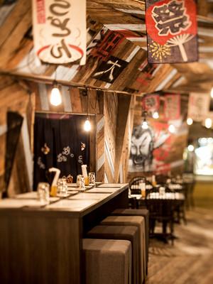 小型酒吧装修风格图片 感受传统日式风
