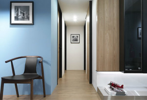 简约风格美观舒适家庭走廊装修效果图