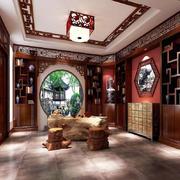 儒雅中式装修风格书房设计效果图赏析