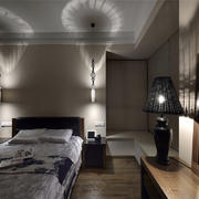 简约典雅新中式卧室装修效果图欣赏