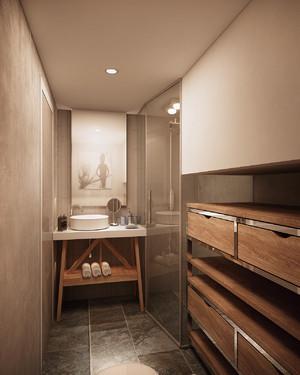 90平后现代风单身公寓装修效果图