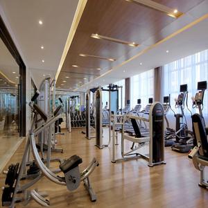 健身房装修案例效果图 让你更有动力!