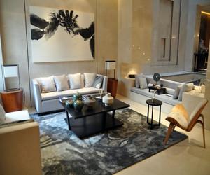 时尚现代新中式客厅装修效果图欣赏
