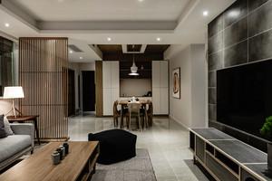 日式风格客厅餐厅效果图