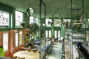 都市绿野东南亚风酒吧设计效果图赏析