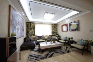 后现代装修风格客厅效果图赏析