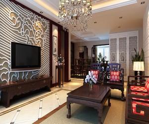 经典中式装修效果图赏析,采用经典的中式红木家具,充满浓浓的书香贵气,白色背景墙让小空间变得更大,非常喜庆!