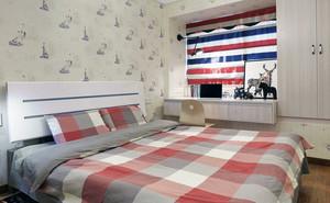 现代简约风格二居室小清新装修图片案列