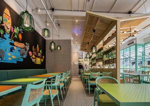创意私房菜馆装修图片