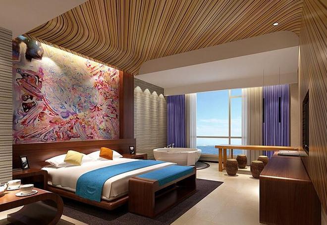中式风格未来酒店客房装修