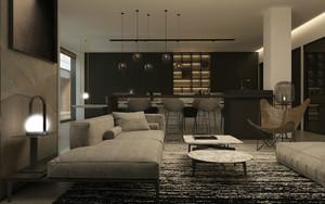 320平米简约风格办公室装修设计效果图赏析