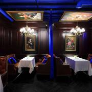 美式复古咖啡厅装修效果图