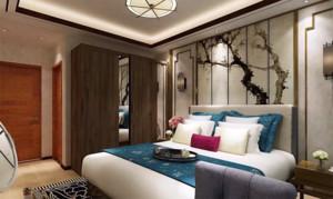 新中式卧室装修效果图赏析