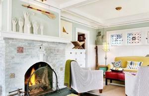 乡村北欧风格三居室装修美图欣赏