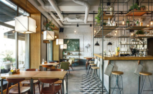 简约北欧风咖啡厅装修效果图赏析