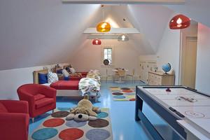 两居室欧式田园风格儿童房装修图
