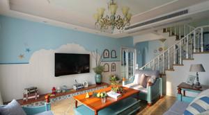 梦幻小户型地中海风格家庭装修设计图片鉴赏