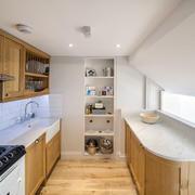 一居室现代简约风格厨房装修效果图