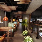 loft咖啡厅装修效果图