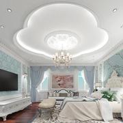 欧式风格精美混搭中式元素卧室装修效果图