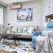 现代小户型客厅装修效果图赏析