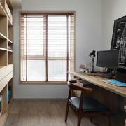 年轻活跃化简约书房装修效果图赏析