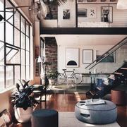 精致现代风格客厅过道吊顶效果图