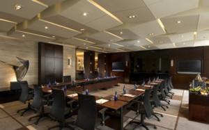 端庄大气中式风格政府会议室装修效果图赏析