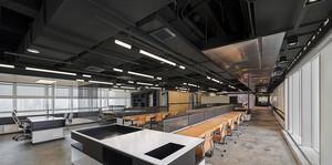 现代简约风办公室设计案例