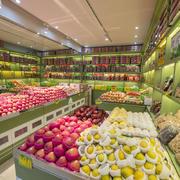 小型水果店装修效果图