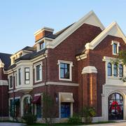 时尚精美美式风格别墅外观设计装修效果图