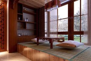 一居室新中式阳台装修效果图