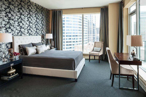 现代都市风精致卧室装修效果图
