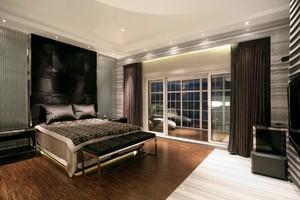2018年卧室装修窗帘效果图
