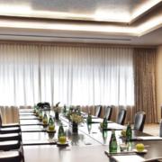 新中式风格会议大厅窗帘效果图赏析