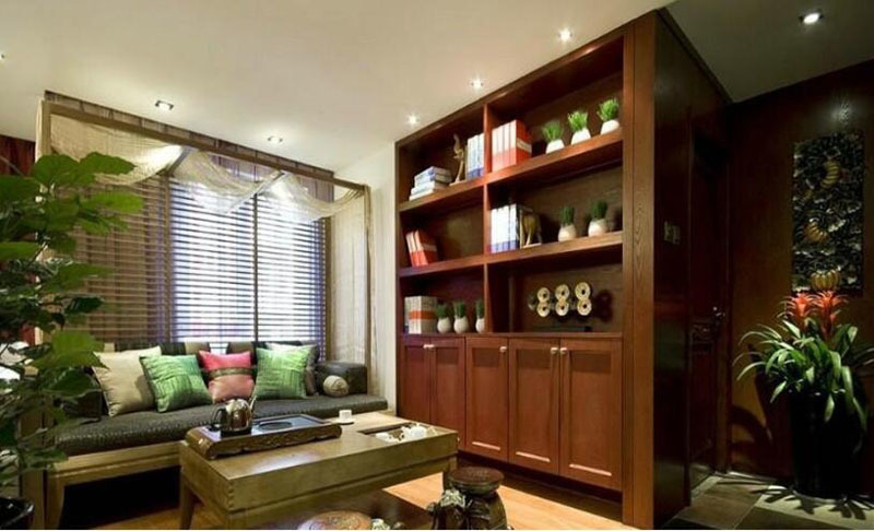 中式家庭茶楼装修效果图