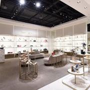 现代时尚女鞋店装修效果图