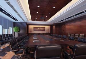 会议室窗帘效果图大全