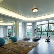 美式健身房装修效果图赏析