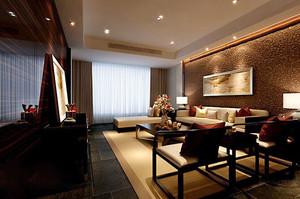 古典中式风格典雅复古客厅装修效果图