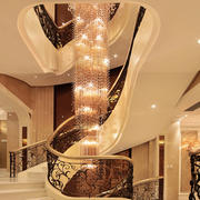 古典风格别墅阁楼楼梯装修效果图大全