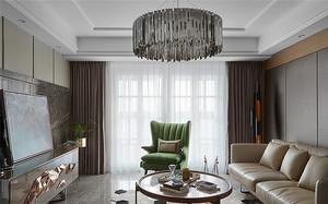 2018现代风格客厅带飘窗装修图大全