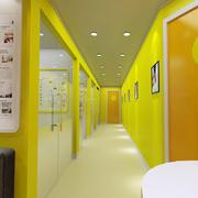 学校走廊装修效果图