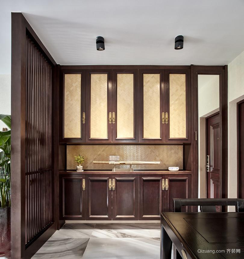 一居室简中式玄关装修效果图