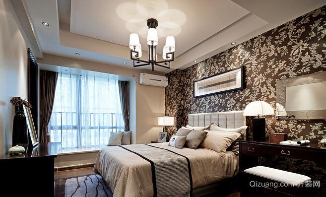 一居室中式卧室吊顶效果图赏析