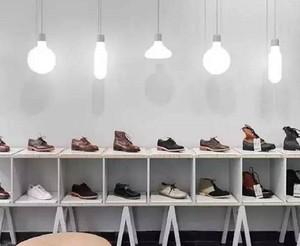 鞋店灯光的设计效果图