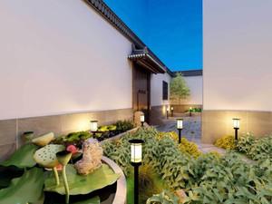 2018新中式花园装修效果图