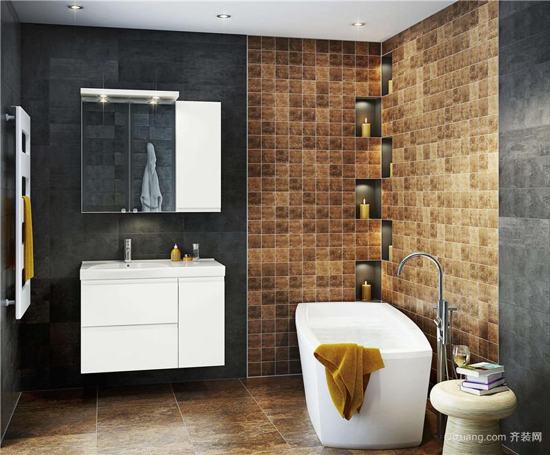 小户型整体卫浴卫生间装修效果图
