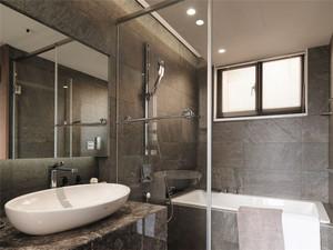 一居室日式风格卫生间装修图